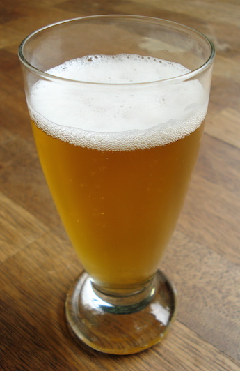 a Belgian-style craft beer