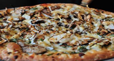 luce mushroom pizza
