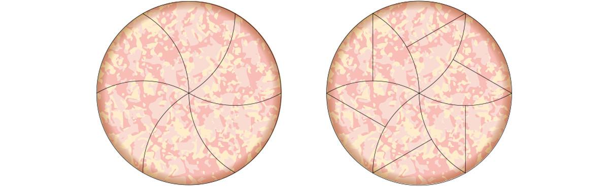 12 slices