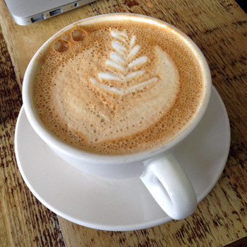 Latte at Groundswell