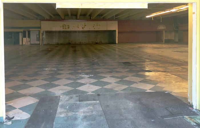 former whole foods interior