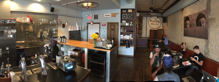 Five Watt Coffee panorama