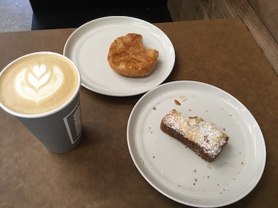 Coffee & pastries at Dogwood St. Paul