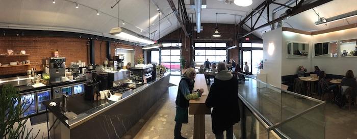 Penny's Coffee panorama