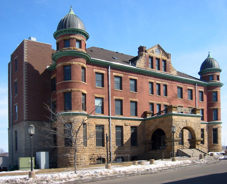 The old Stockyard Exchange building in South Saint Paul