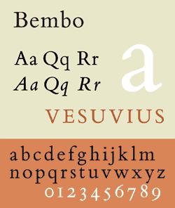 Monotype Bembo